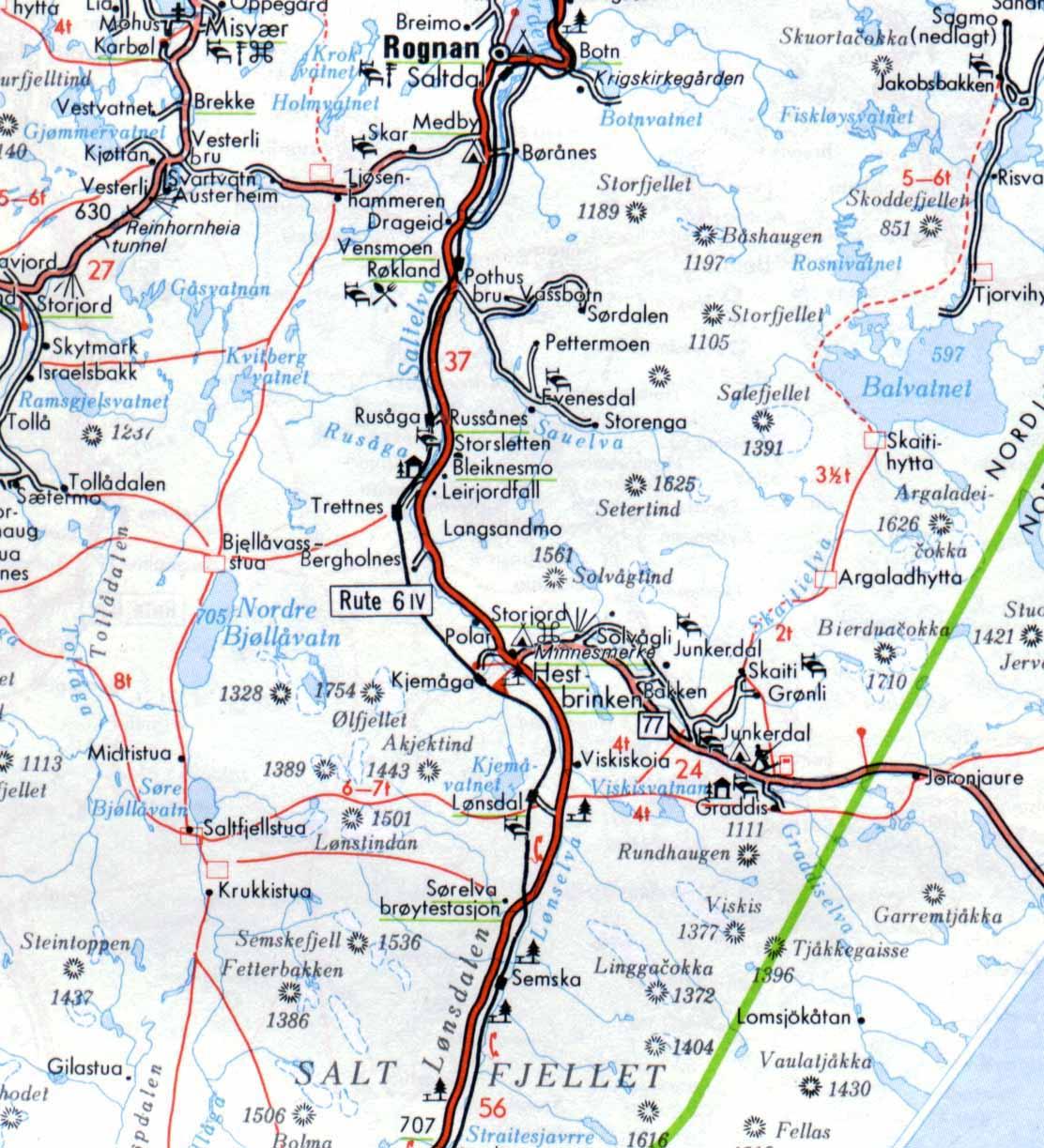 kart over saltdal saltkart kart over saltdal